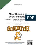 Cahier Algorithmique et programmation -- scratchcollegenovembre2016