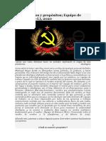Bitácora Marxista-Leninista - Fundamentos y propósitos (2020)