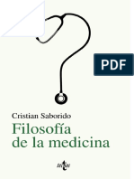 Cristian Saborido. Filosofía de la medicina