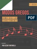 E-book - Modos Gregos