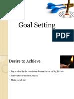 Goal Setting Final