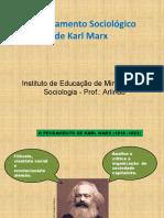 O Pensamento sociológico de Karl Marx I