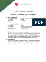 00 Silabo TALLER DE ELABORACIÓN DE TESIS  4 meses (1)