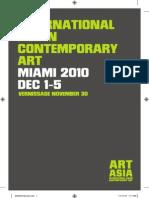 Art Asia Miami 2010 Catalog