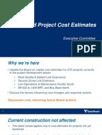 Cost Estimate Slides