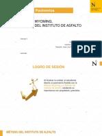 Unidad I - Sem 3 - Método del Instituto de Asfalto (16x9)