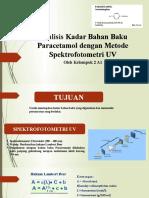 PPT Analisis Bahan Baku PCT