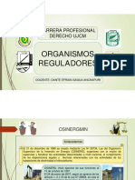 osinergmin-  Diapositivas de organismo regulador OSINERGMIN