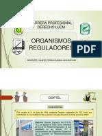 osiptel  y ositran-  Diapositivas de organismo regulador OSIPTEL y OSITRAN