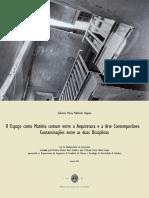 O Espaço como Matéria comum entre a Arquitetura e a Arte Contemporânea.pdf