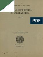 Neugebauer and Pingree, The Pancasiddhantika v1_1970.pdf