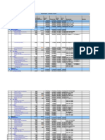Schedule Tracker Template
