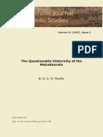 questional history of mahabharat