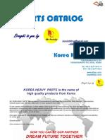 Korea Heavy Part Catalog