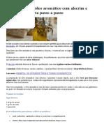 Como fazer um óleo aromático com alecrim e pimenta