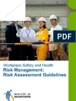 Method Statement and Risk Analysis Guidelines