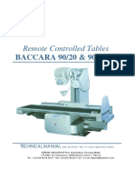 BACCARA 9020 9025 Technical Manual Rev.N