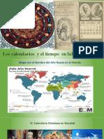 Calendarios y Tiempo en La Hª Del Mundo