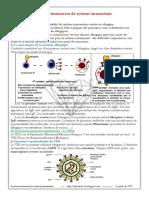 Dysfonctionnement de la réponse immunitaire spécifique.pdf