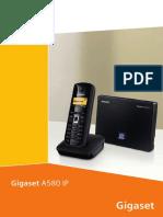 Gigaset A580 IP - EN