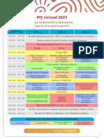 Agenda del pfj 2021