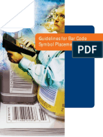 Guidelines for Bar Code Symbol Placement