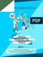 Unidad 1 Generalidades de los Programas de Información, Educación y Comunicación, en Todos los Niveles de Prevención de la Seguridad y Salud en el Traba