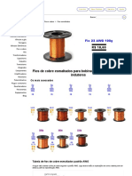 Altana Tubes - Fios de cobre esmaltados para bobinas, transformadores e indutores