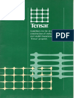 TENSAR-Guidlines for the Design and Construction of Embankments Over Stable Foundations Using Tensar Geogrids