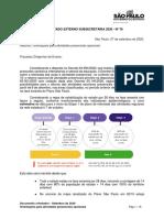 COMUNICADO EXTERNO SUBSECRETARIA 2020 - Nº 78 - Orientações para atividades presenciais opcionais