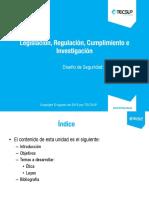 U05 CISSP Legal, Regulaciones, Instigaciones y Cumplimiento (1)