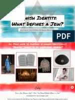 jewish identity  what defines a jew