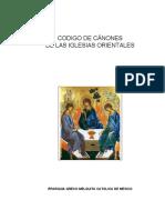 CCEO (CÓDIGO DE DERECHO CANÓNICO ORIENTAL).doc