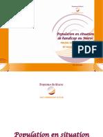 Population en situation de handicap au Maroc _ Profil démographique  et socio-économique