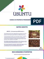 Plaquette UBUNTU