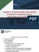 AUDITORIA Planificación , control interno y evidencias
