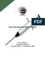 AHRN - Annual Report 2005
