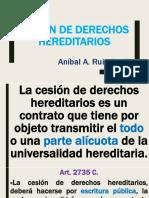 Cesión De Derechos Hereditarios, La - Ruiz