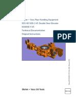 B+V-Manual - VES-SD 500-1-VC - 646000-Y-VC-D Rev 006