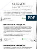 PGR na Indústria da Construção Civil