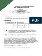 investigacion socio-politica en matematicas
