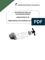 Laboratorio 08 - Operaciones con Vectores en MATLAB