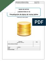 05 - Visualización de datos de varias tablas