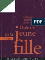 Tiqqun - Premiers Matériaux pour une Théorie de la Jeune-Fille-Fayard (2001)