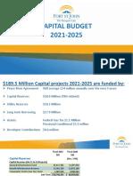 Fort St. John Capital Budget 2021-2025