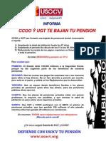 Ccoo y Ugt Te Bajan La Pension Entrega Numero 1 Con Imagen