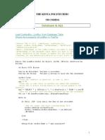 VB CODING-DATABASE AND SQL