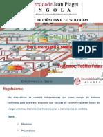 Instrumentação e Medidas Regulador