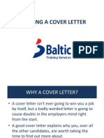 CREATING A COVER LETTER Lesson 2