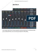 A Step-By-Step Guide to Mixing in Presonus Studio One 4 b